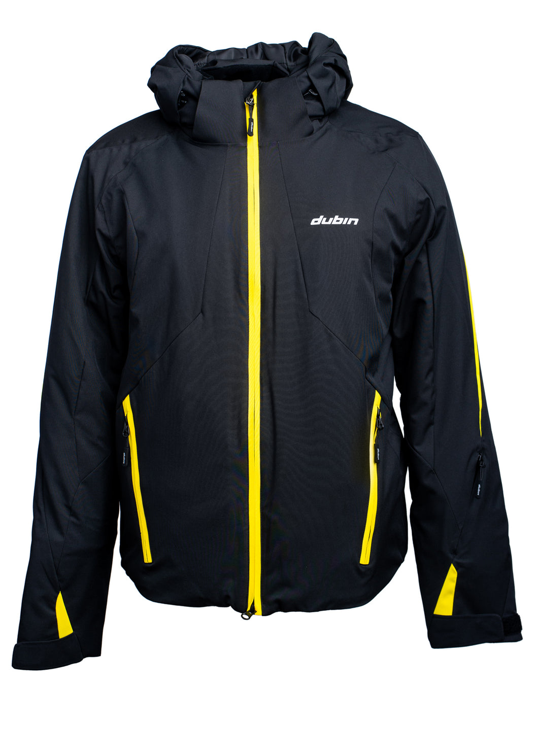 GIACCA SCI EVEREST 10K 3M THINSULATE - BLACK/YELLOW
