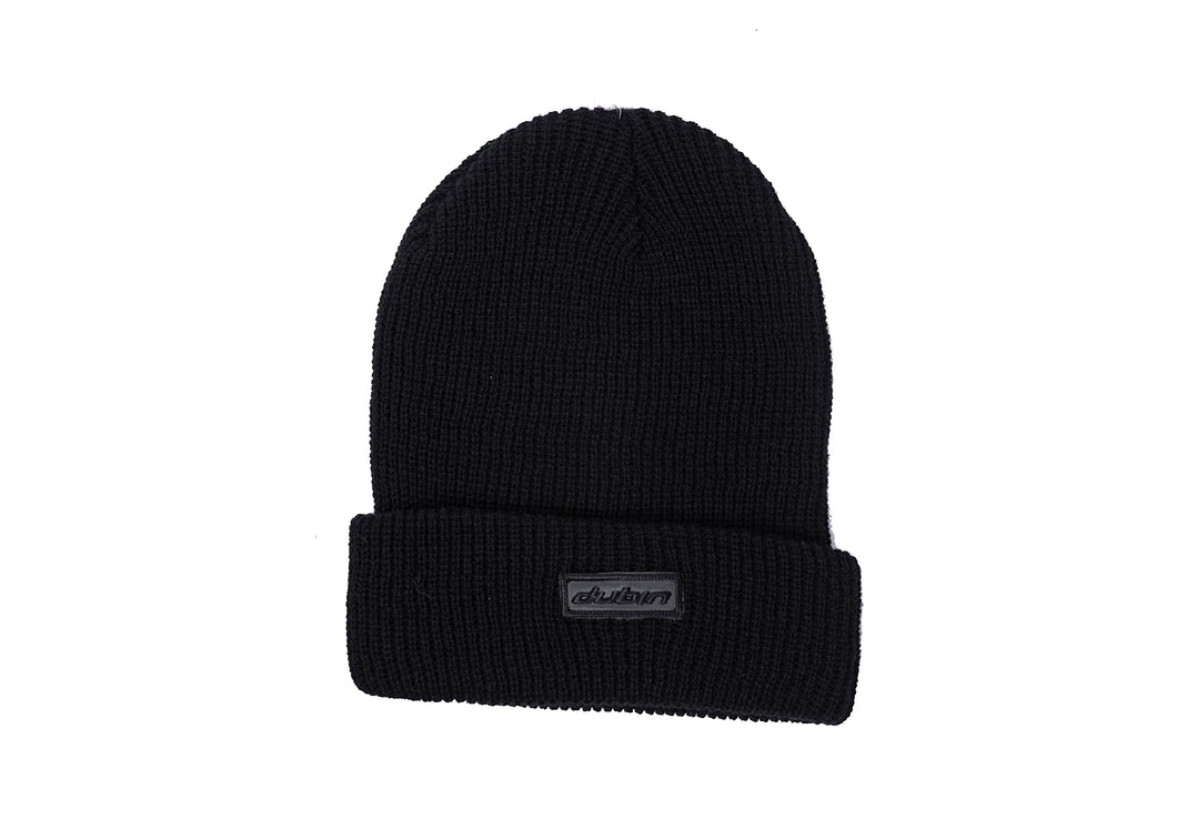 BERRETTO FISHERMAN BEANIE - BLACK
