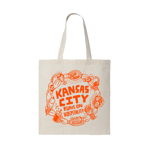 KC Hospitality Fund | KC Runs on Hospitality Tote