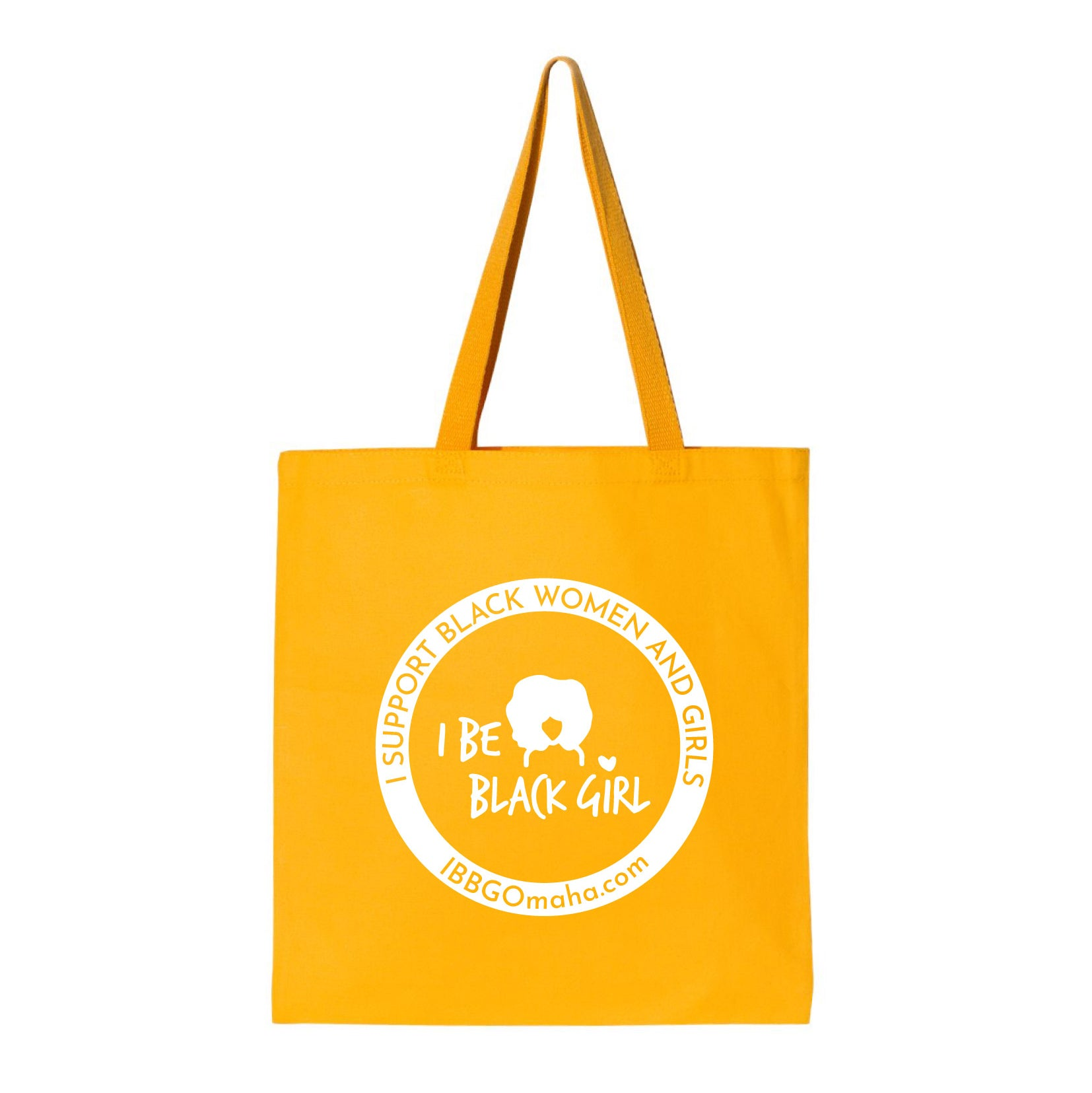 I Be Black Girl | Circle Tote