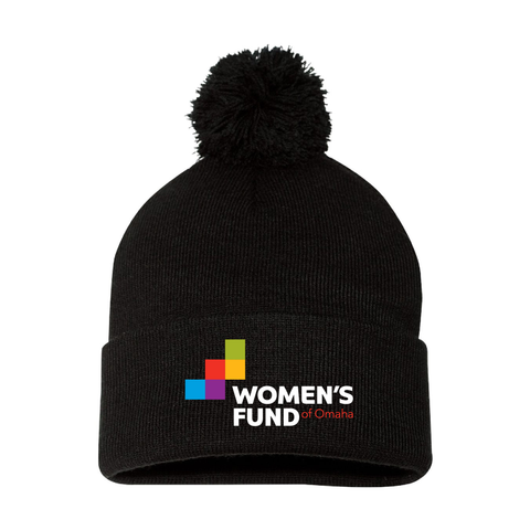 Women's Fund Of Omaha | Pom Pom Beanie
