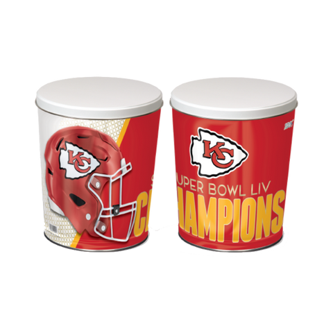 Boy Scouts Of America | Super Bowl LIV Chiefs Popcorn Tin