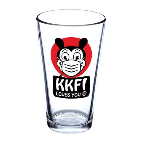 KKFI | 'KKFI Loves You' Pint Glass