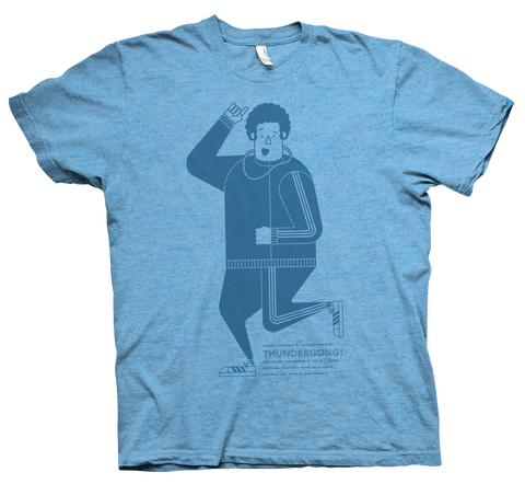 blue vance Thundergong! t-shirt