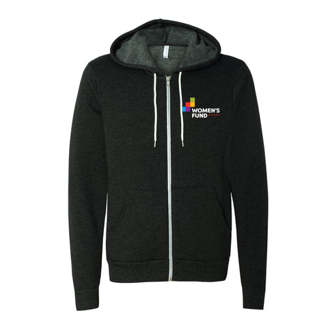 Women's Fund Of Omaha | Logo Zip Hoodie