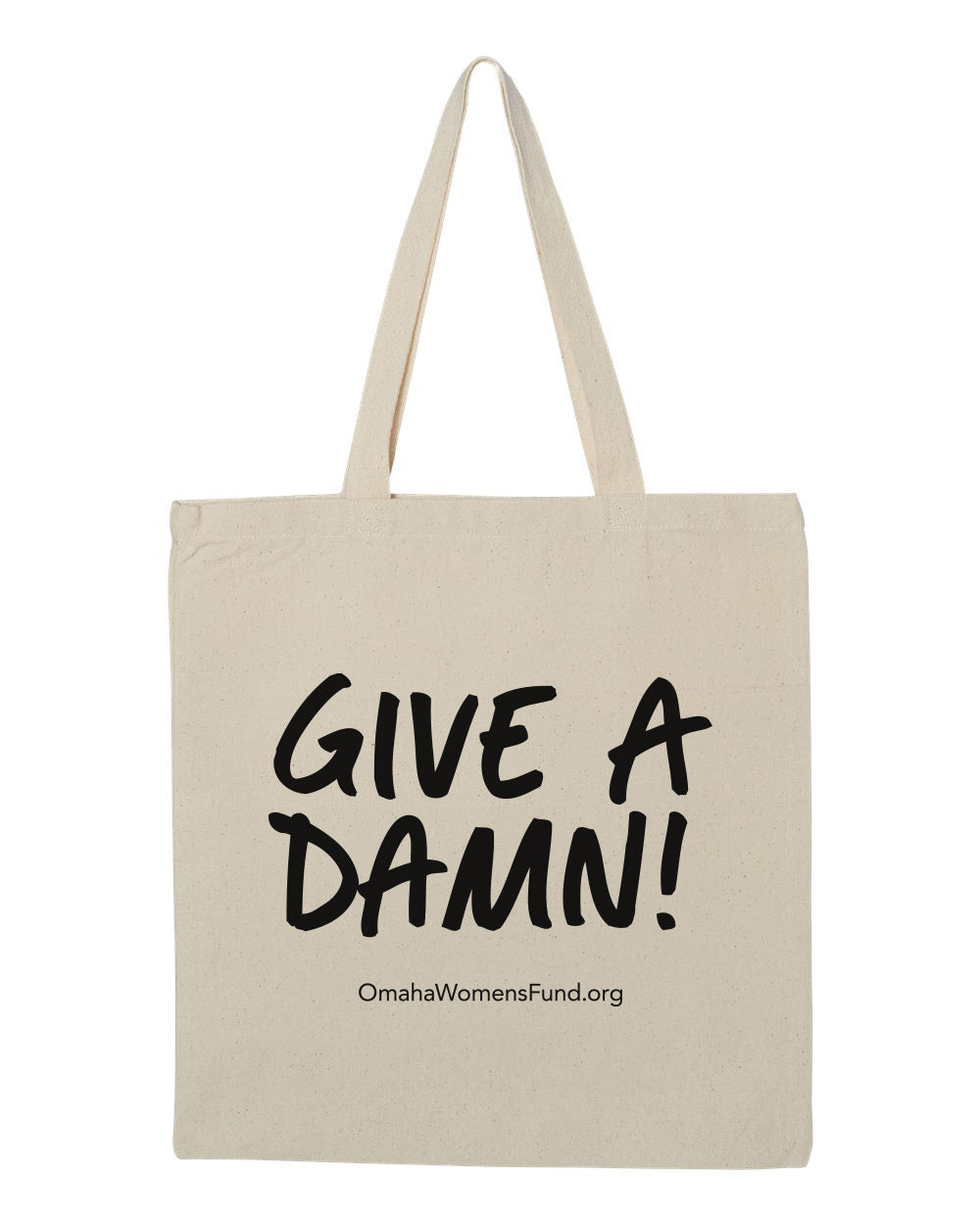 Women's Fund Of Omaha | Give A Damn! Tote