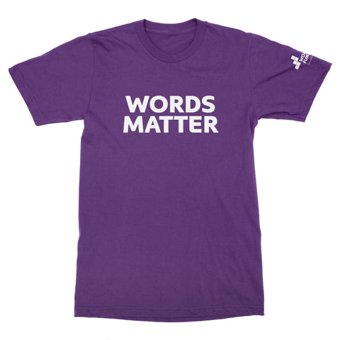Women's Fund Of Omaha | Words Matter T-Shirt