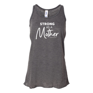 "Women's Fund Of Omaha | ""Strong as a Mother"" Women's Racerback Tank *PREORDER*"