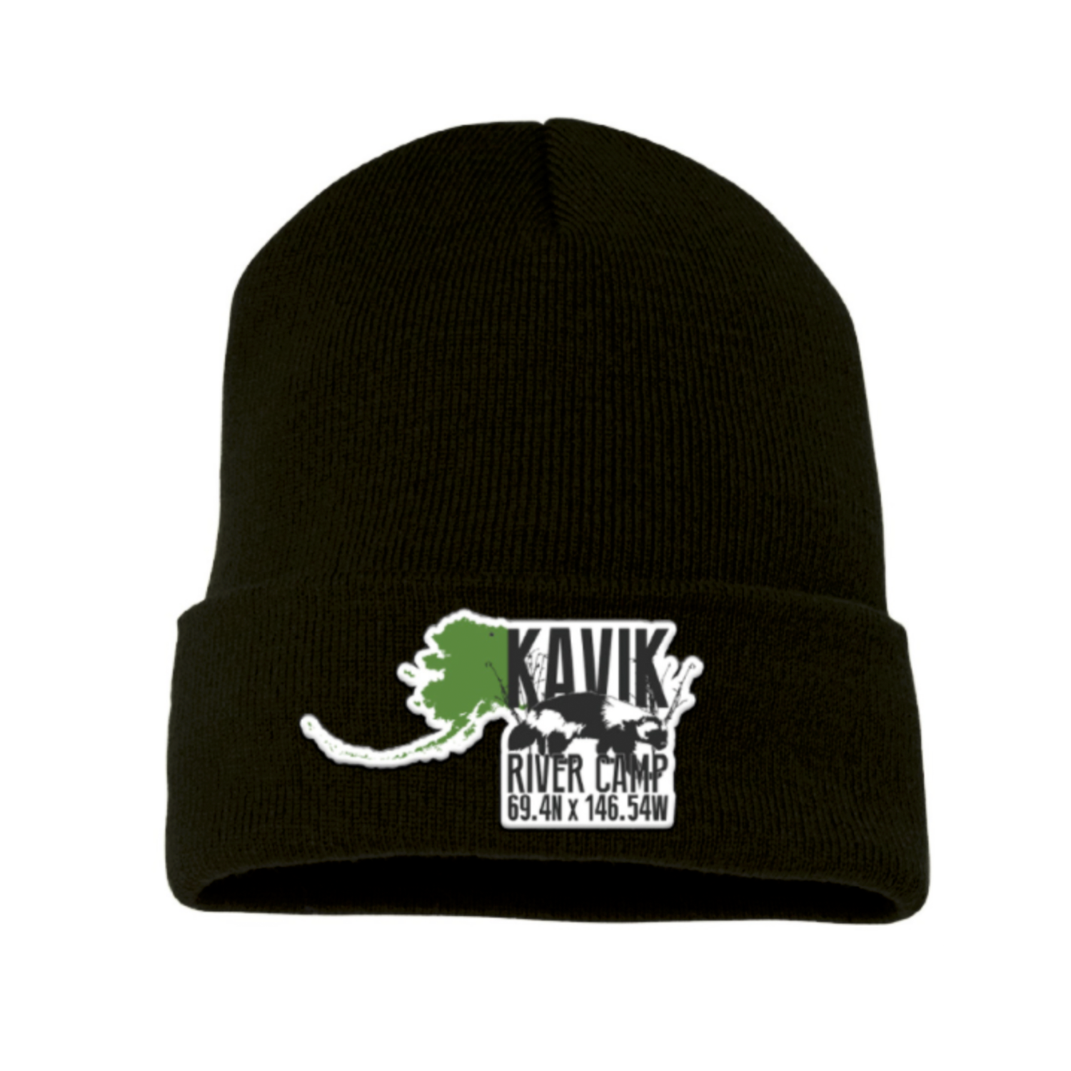Kavik River Camp | Beanie - Black