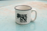 Kavik River Camp | Logo Coffee Mug - White *PREORDER*