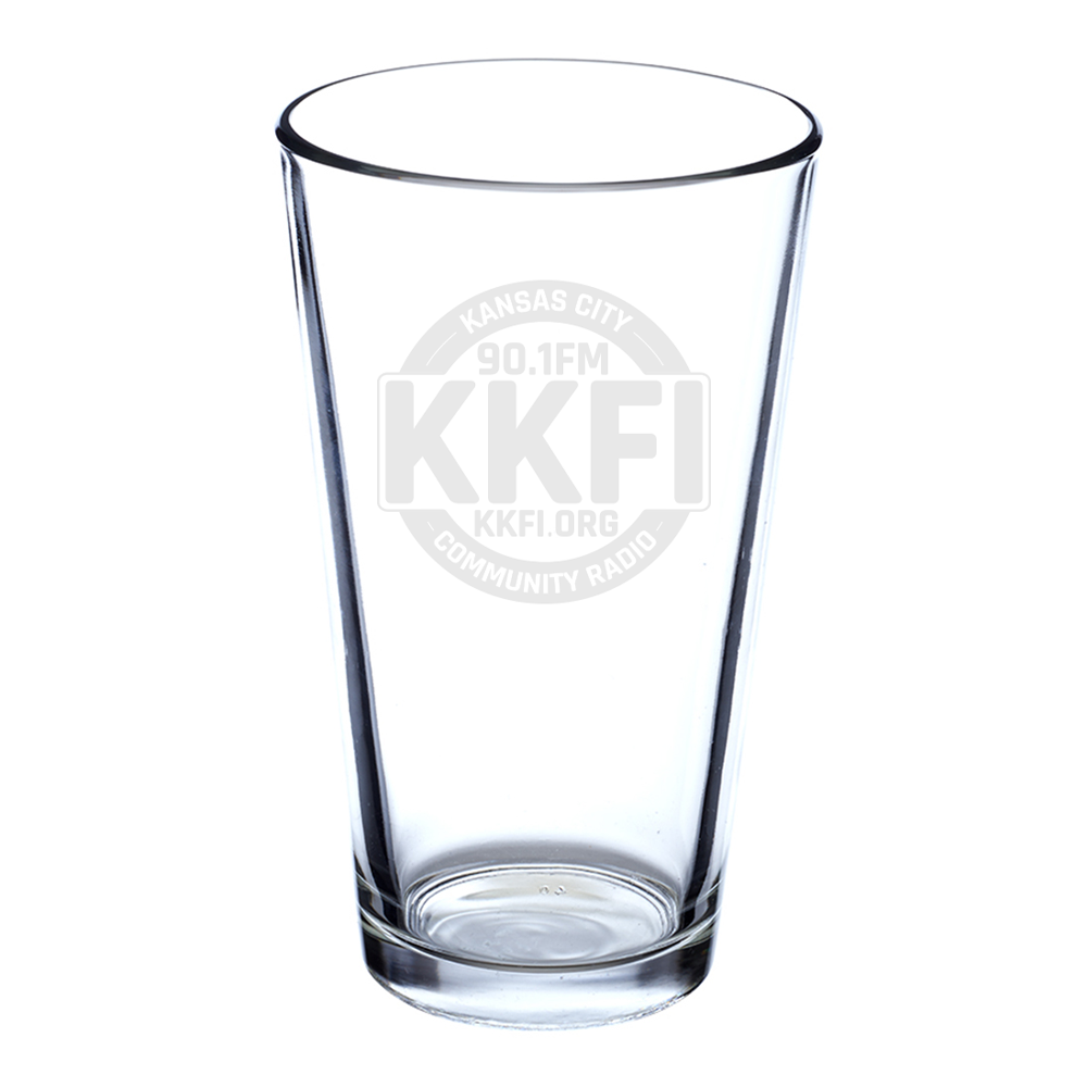KKFI | Logo Pint Glass