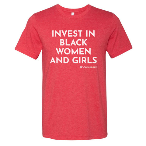 I Be Black Girl | Invest In Black Women Tee - Red