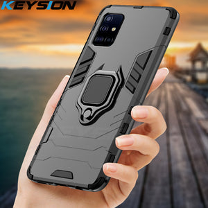 KEYSION Shockproof Case para Samsung S20