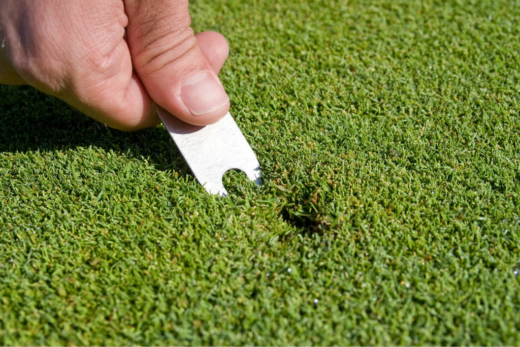 How To Fix Ball Marks And Divots | Back 2 Basics Golf