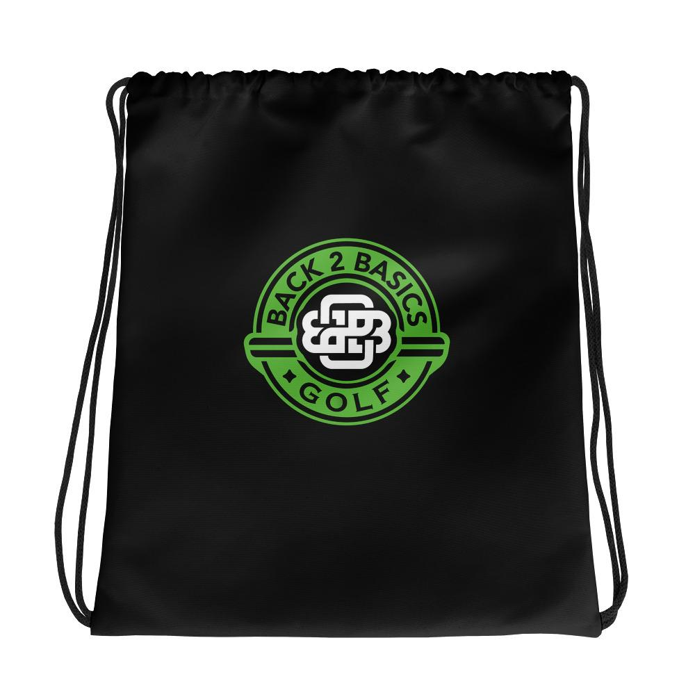 """Celtic Knot"" Drawstring bag - Back 2 Basics Golf"