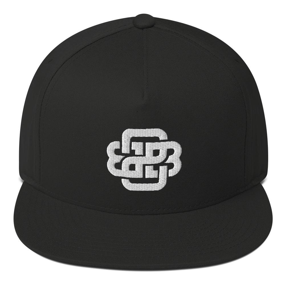 """Celtic Knot"" Flat Bill Cap - Back 2 Basics Golf"