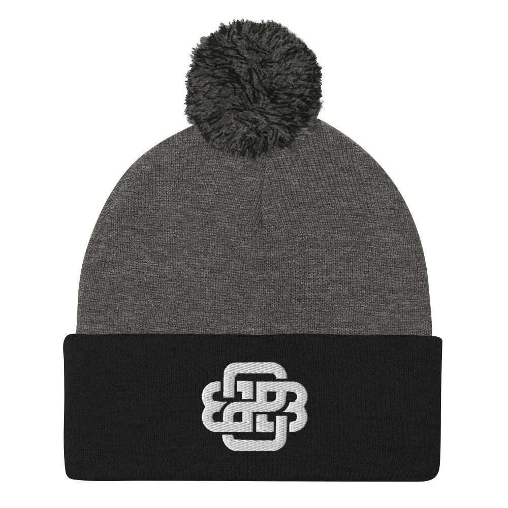 """Celtic Knot"" Pom Beanie - Back 2 Basics Golf"
