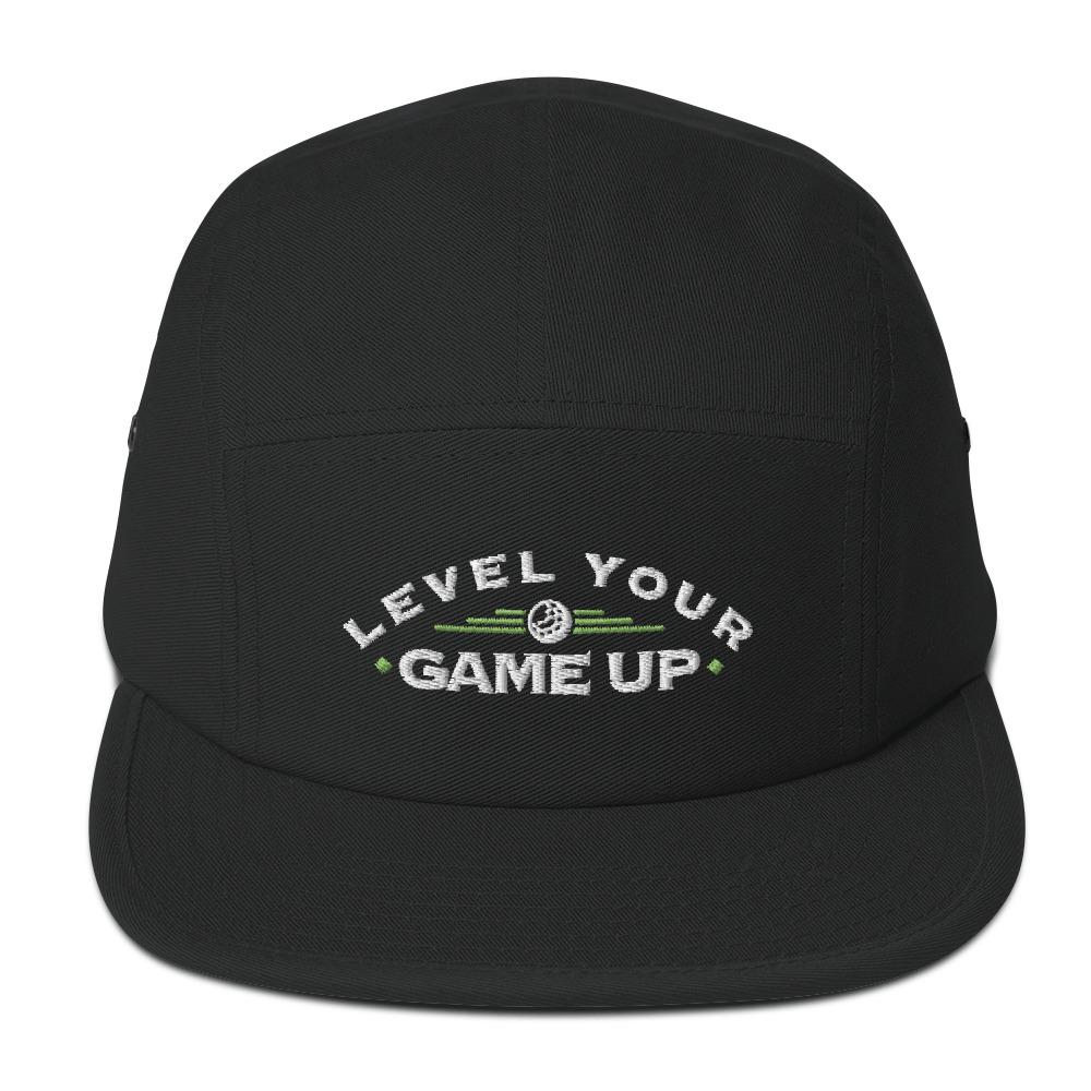 """Level Up"" 5 Panel Camper - Back 2 Basics Golf"