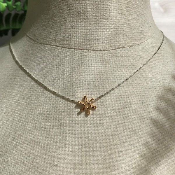 Minnie Snowflake Necklace