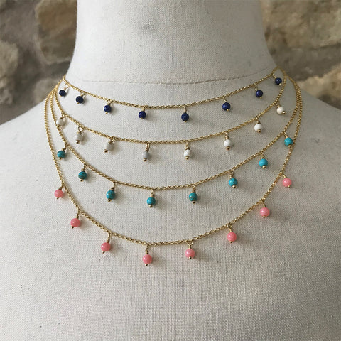 Astrid Beaded Necklace