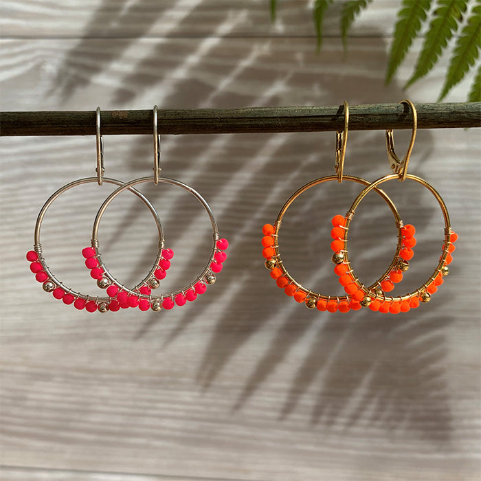 Emmy Neon Dangle Earrings