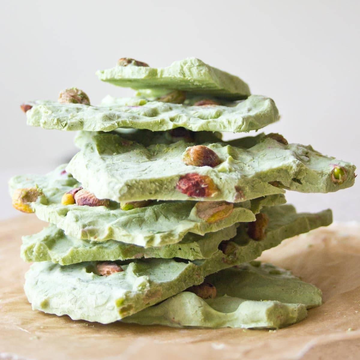 Matcha Frozen Yogurt Bark