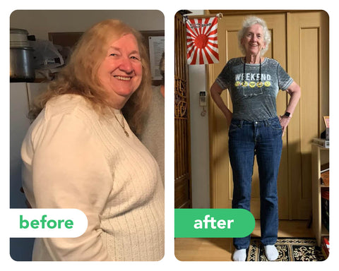 Marilyn Before and After Keto