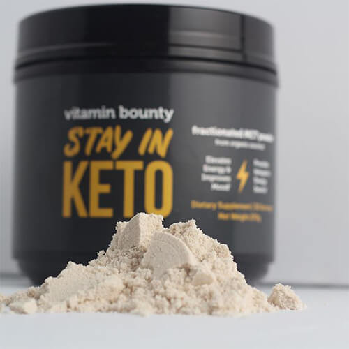 Boost ketones and helps you stay in ketosis