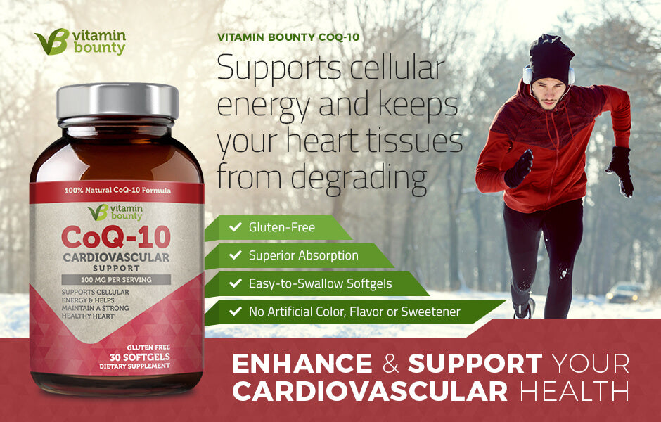 Supports Cellular Energy and Keeps Your Heart Tissues from Degrading