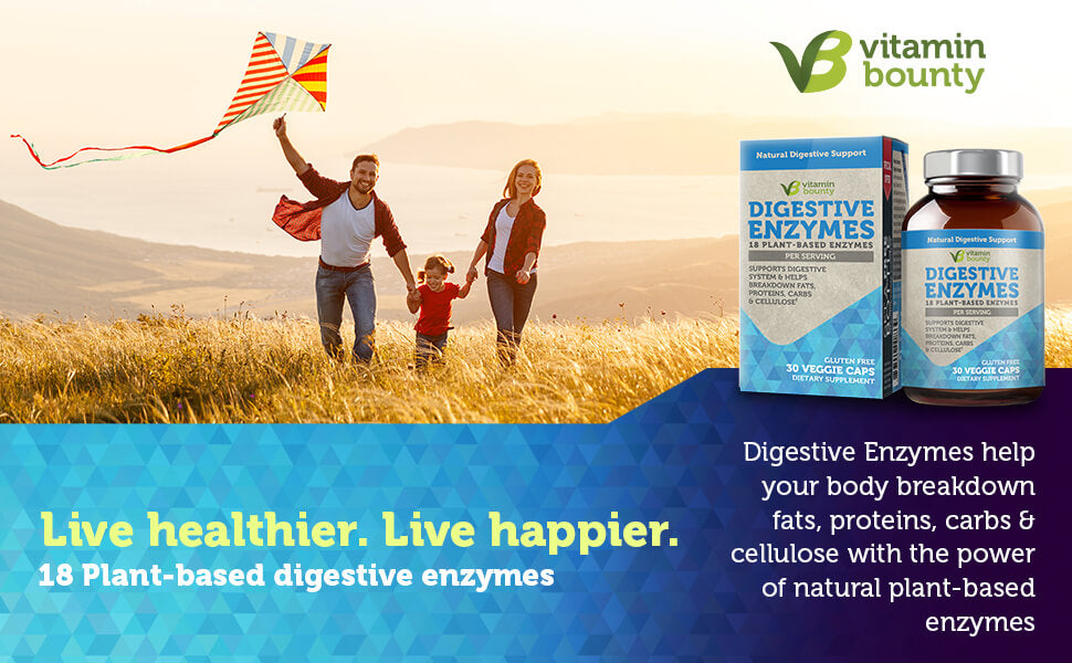18 Plant-Based Digestive Enzymes