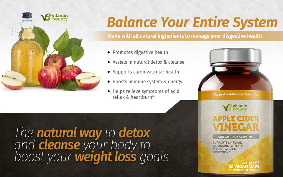 Balance Your Entire System With Apple Cider Vinegar