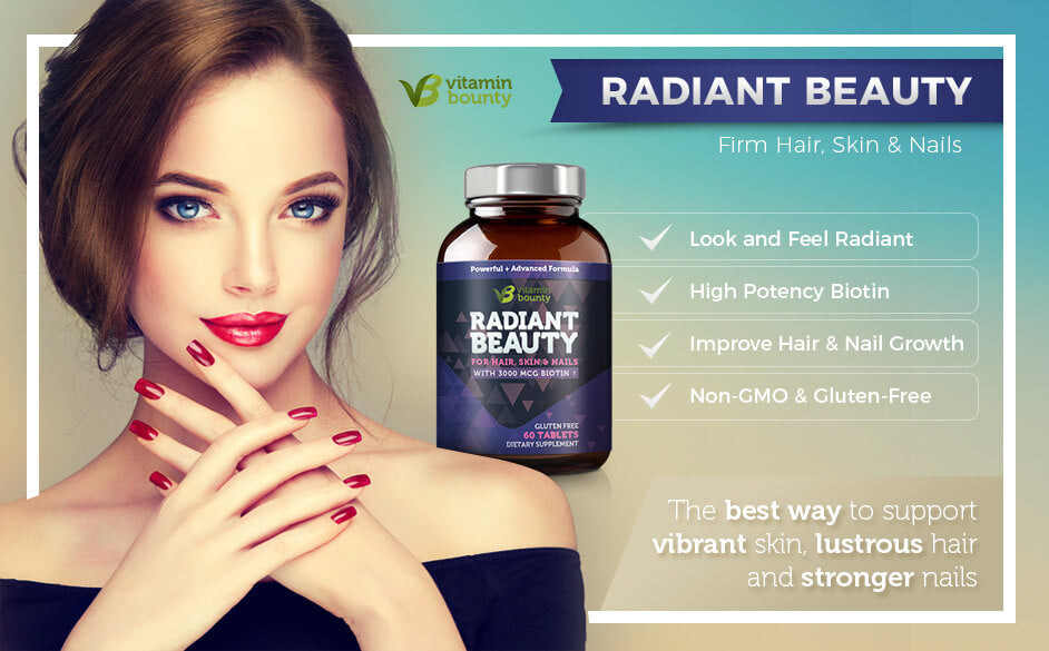 Radiant Beauty Firm Hair, Skin and Nails