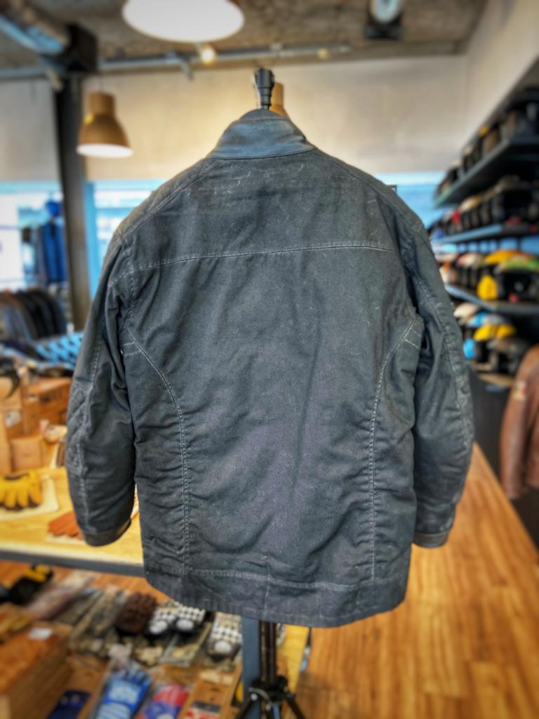 Age of Glory Mission Waxed Cotton Jacket Black