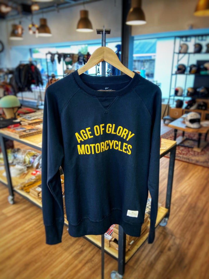 Age of Glory Raglan Black