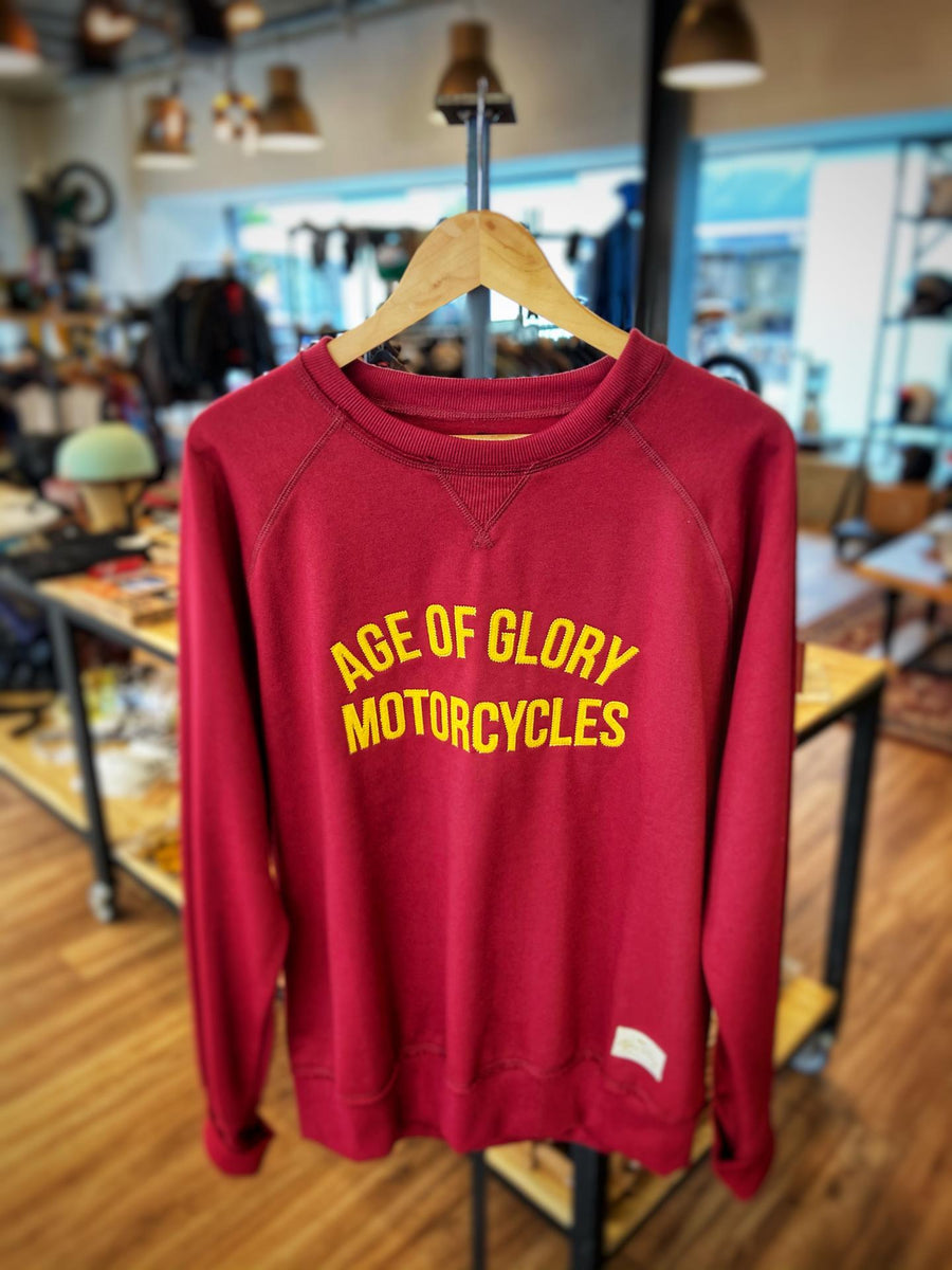 Age of Glory Raglan Burgundy