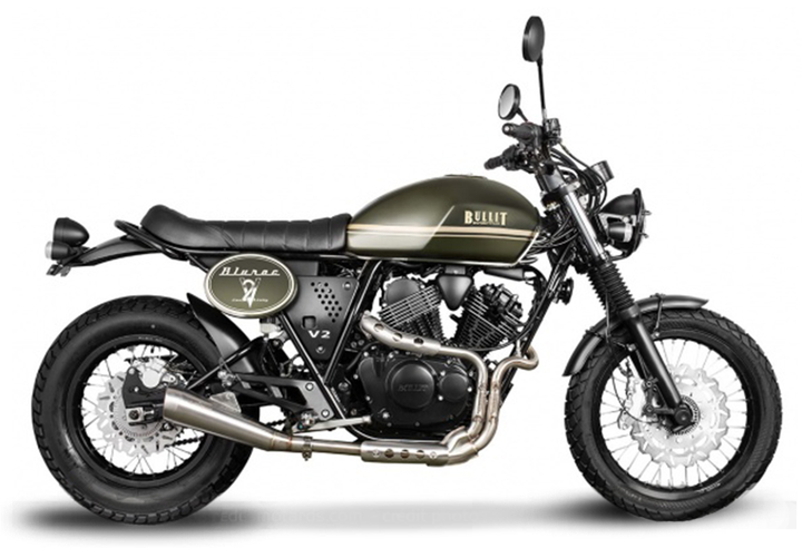 Bullit Bluroc 250 British Green