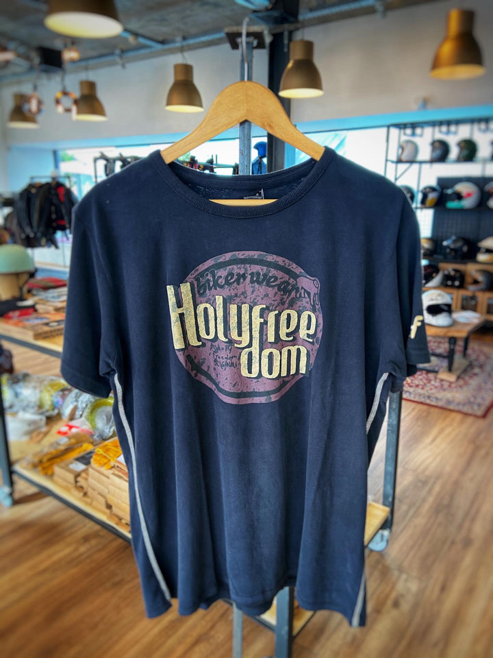 Holy Freedom Logo Black Tee