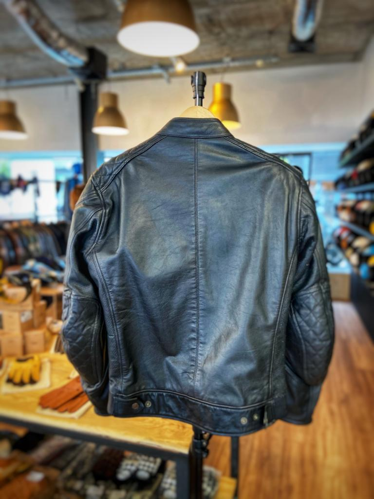 Age of Glory Rogue Leather Jacket Black