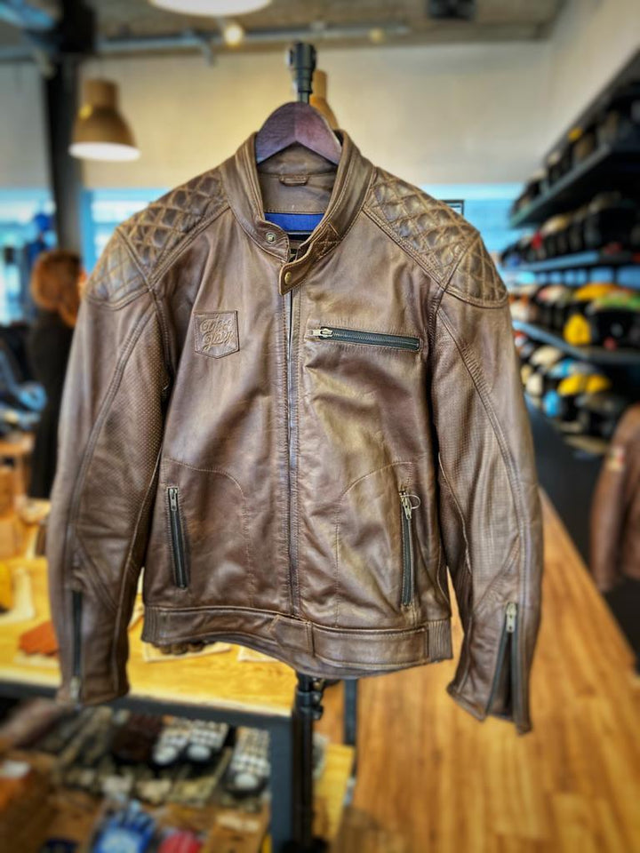 Age of Glory Rogue Leather Jacket Brown