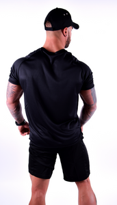 Mens - Black Motivational Clothing T-shirt - Motivational Clothing Ltd