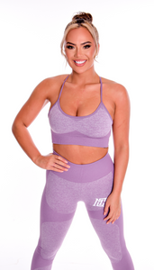 Motivational Clothing Purple Womens Set - Motivational Clothing Ltd