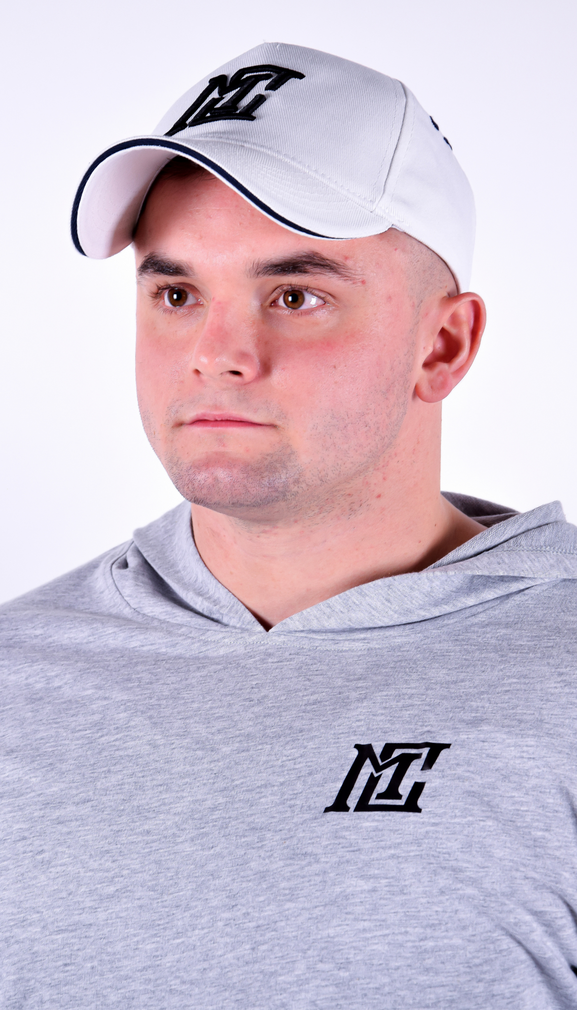 Mens - White Motivational Clothing Cap - Motivational Clothing Ltd