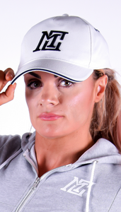 Womens - Motivational Clothing White Cap - Motivational Clothing Ltd