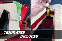 Router Bit and Templates Included
