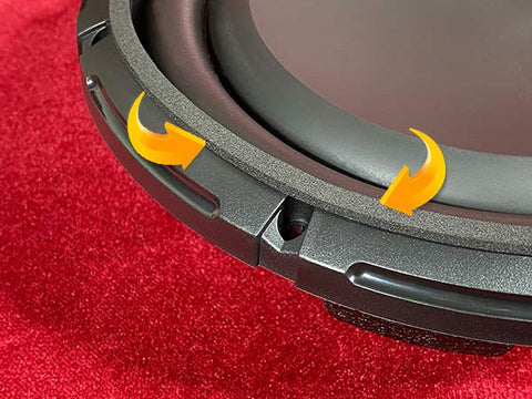 "Velocity 10"" subwoofer for Harley"