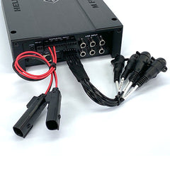 Helix M Four DSP Amplifier Harley Radio Connections