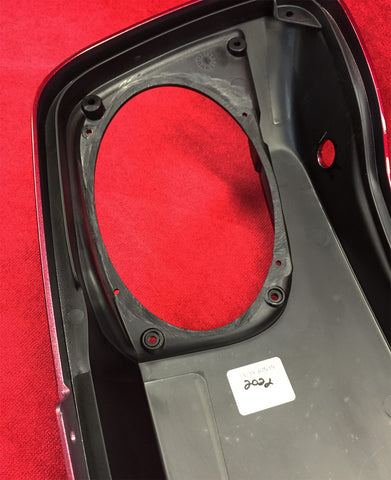 Remove the plastic basket from underside of the speaker lid