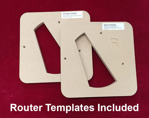 Router Templates Included