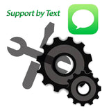 Support by Text