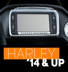 Factory Harley radio